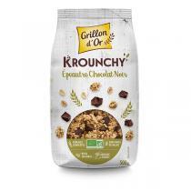 Grillon d'or - Krounchy Épeautre chocolat noir 500g
