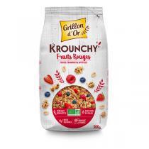 Grillon d'or - Krounchy Fruits rouges 500g