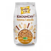 Grillon d'or - Krounchy Pomme-cannelle 500g