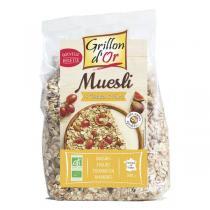 Grillon d'or - Muesli 4 céréales et fruits 500g