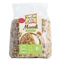Grillon d'or - Organic Hazelnut Muesli 1kg