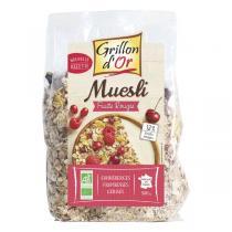 Grillon d'or - Organic Red Berries Muesli 500g