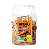 Grillon d'or - Organic Gran'O Fruits Muesli 1kg