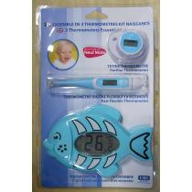 LBS Puériculture - Set 3 Thermomètres Bébé