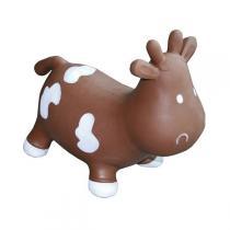 KidzzFarm - Betsy the Cow Animal Hopper Brown