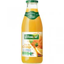 Vitamont - Pure Organic Orange Juice 1L