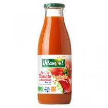 Vitamont - Pur jus de tomate de Marmande sans sel 75cl