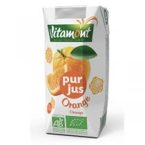 Vitamont - Tetra Pak Organic Orange Juice 20cl