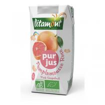 Vitamont - Tetra Park Pure Grapefruit Juice 20cL