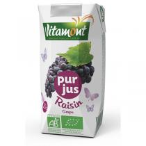 Vitamont - Tetra Pak Pure Grape Juice 20 cl
