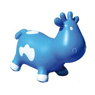 KidzzFarm - Betsy the Cow Animal Hopper Blue