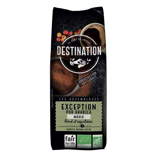 Destination - Café moulu Exception pur arabica 250g