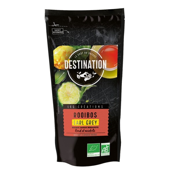 Destination - Rooibos Earl Grey saveur bergamote 100g