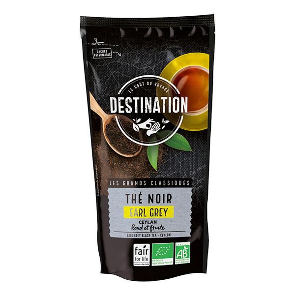 Destination - Thé noir Earl Grey Ceylan 100g