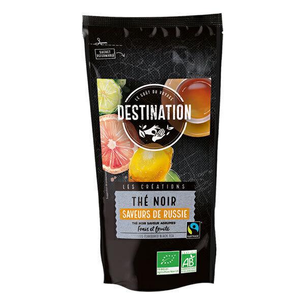Destination - Thé noir parfum agrumes Saveurs de Russie 100g