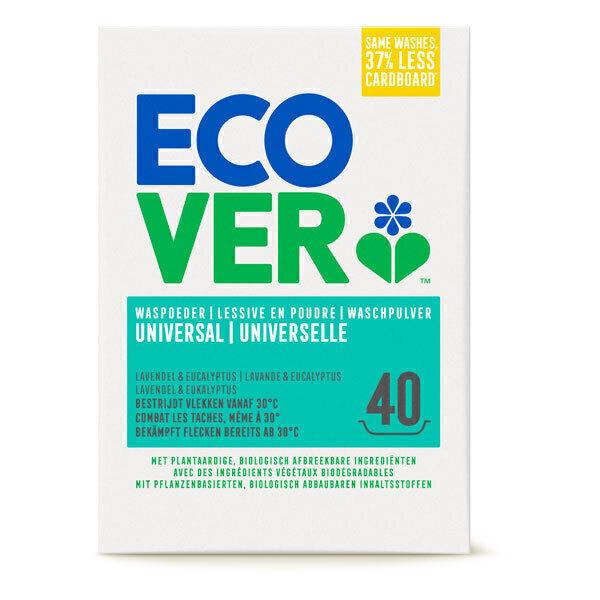 Ecover - Lessive en poudre Universelle 3kg