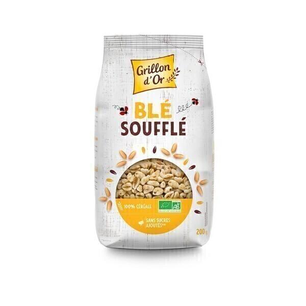Grillon d'or - Céréales Blé complet soufflé 200g