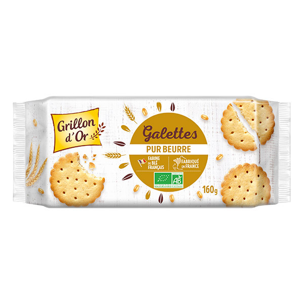 Grillon d'or - Galettes pur beurre 160g