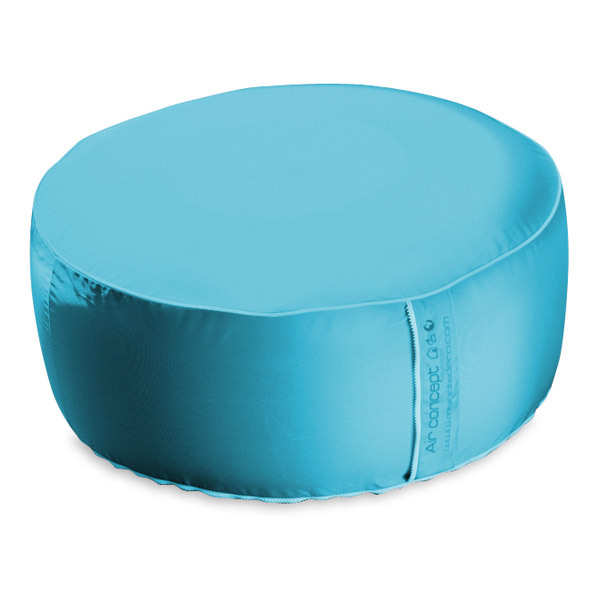 outdoor pouffe turquoise 55cm my note deco shop online at. Black Bedroom Furniture Sets. Home Design Ideas