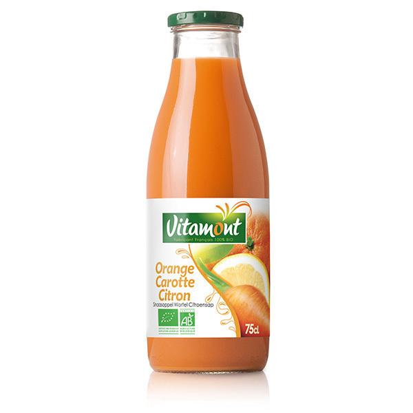 Vitamont - Jus Oranges Carottes Citrons Bio 75cL