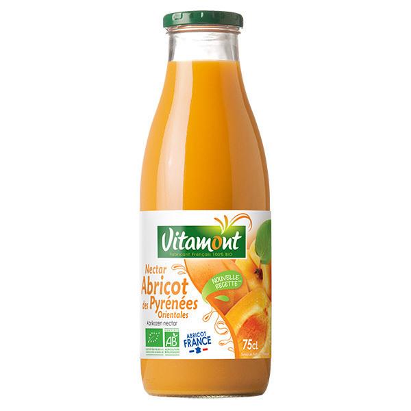 Vitamont - Organic Apricot & Agave Syrup Juice 75g