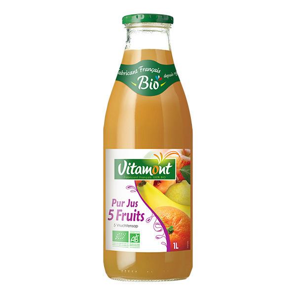 Vitamont - Pur jus 5 fruits 1L