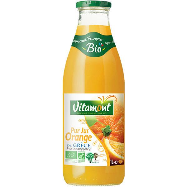 Vitamont - Pur Jus d'Oranges Bio 1L