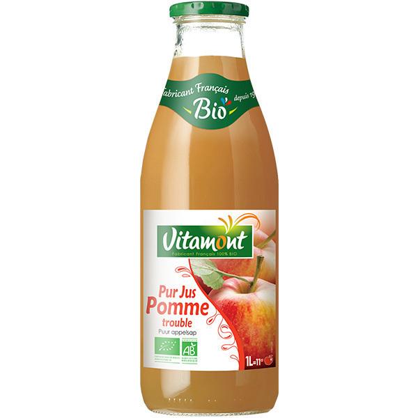 Pur jus de pommes bio 1l vitamont acheter sur - Jus de pomme maison ...