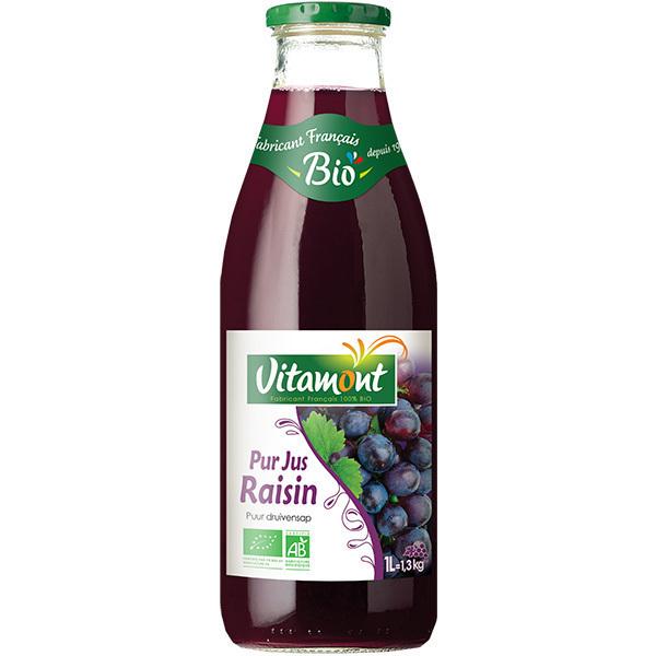 Vitamont - Pur Jus de Raisins Bio 1L