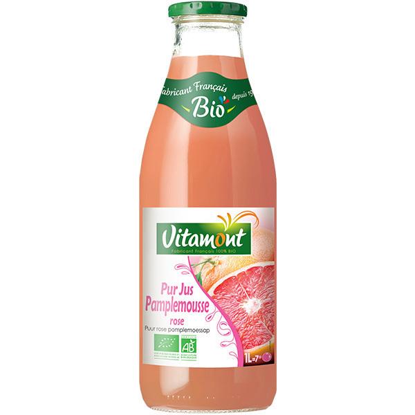 Vitamont - Pur Jus Pamplemousses Roses Bio 1L
