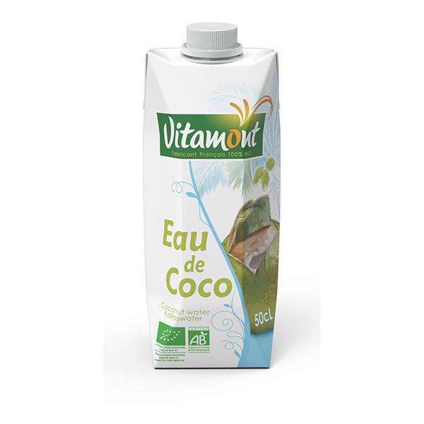 Vitamont - Tetra Pak Eau de Coco Bio 50cL