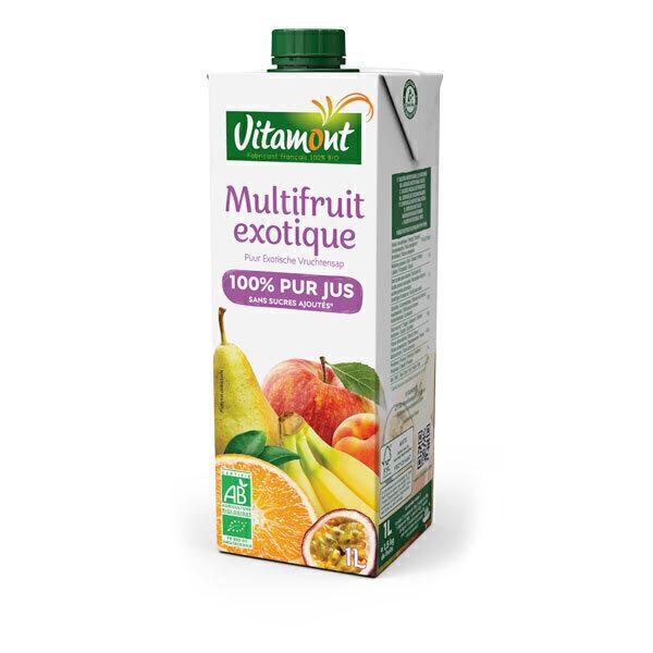 Vitamont - Tetra Pak Organic Multifruit Juice 1L