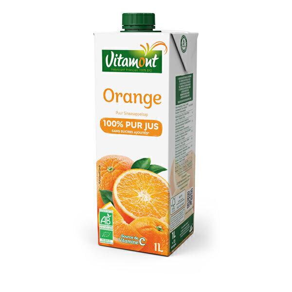 Vitamont - Tetra Pak Pur Jus d'Orange Bio 1L