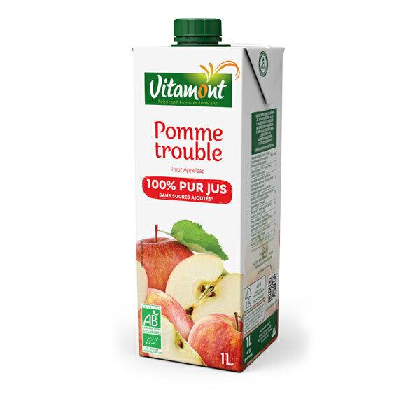 Vitamont - Tetra Pak Pur Jus de Pomme Bio 1L