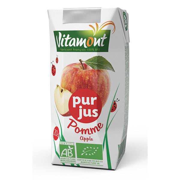 Vitamont - Tetra Pak Pur Jus de Pomme Bio 20cL