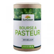 Sungreen - Bourse à pasteur - 200 gélules de 200 mg
