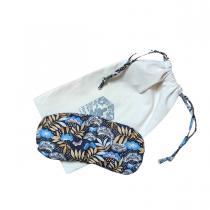 Husly Zafu - Masque relaxant yeux aux graines de lin lavande Nagoya bleu
