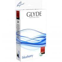 Glyde - GLYDE 10 Préservatifs Ultra Myrtille latex naturel Vegan