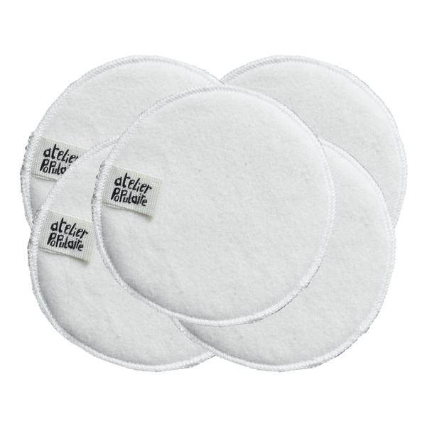 Atelier Populaire - Coton démaquillant lavable coton bio X5