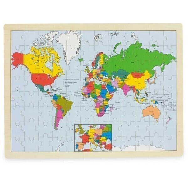 Ulysse - Puzzle du monde (96 pièces) - Ulysse