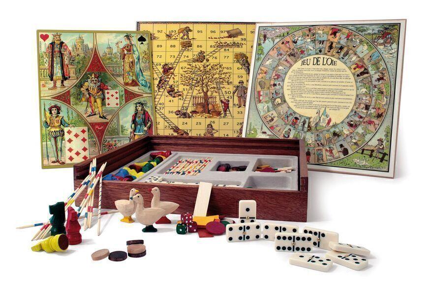 Jeujura - Mon coffret de jeux tradition - Jeu Jura