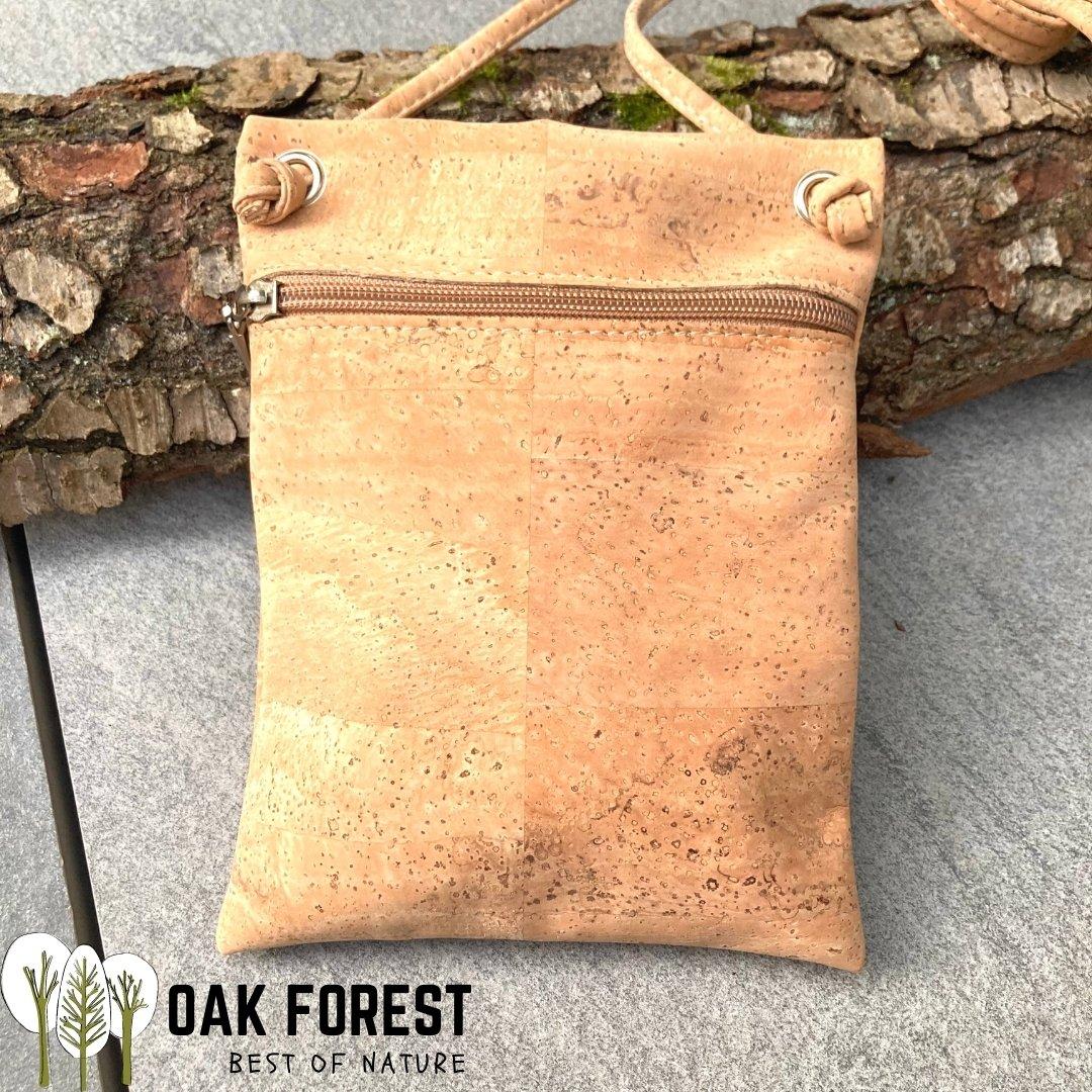 "OAK Forest - Sac en liège naturel ""Essentiel NATUREL"" - Sac bandoulière Vegan"