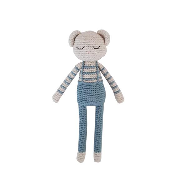 Patti Oslo - Doudou en crochet ourson