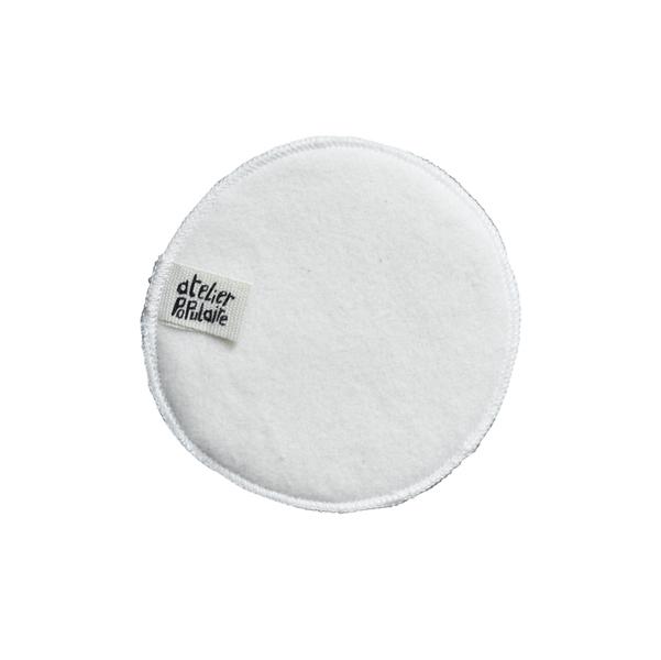 Atelier Populaire - Coton démaquillant lavable coton bio X1