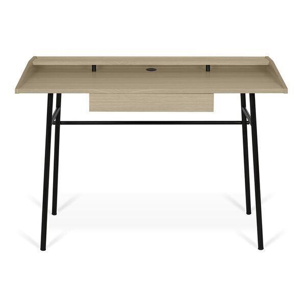 Temahome - Bureau PLY avec tiroir - Chêne et noir