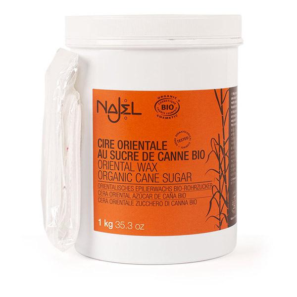Najel - Cire orientale au sucre de canne 1kg