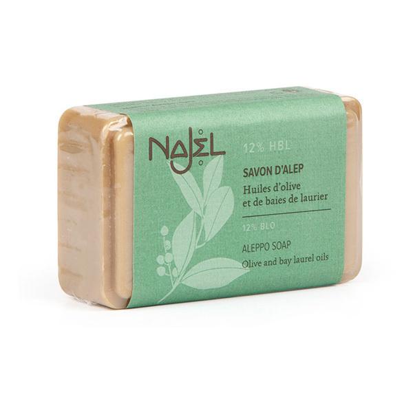 Najel - Savon d'Alep 12% huile de baies de laurier 100g