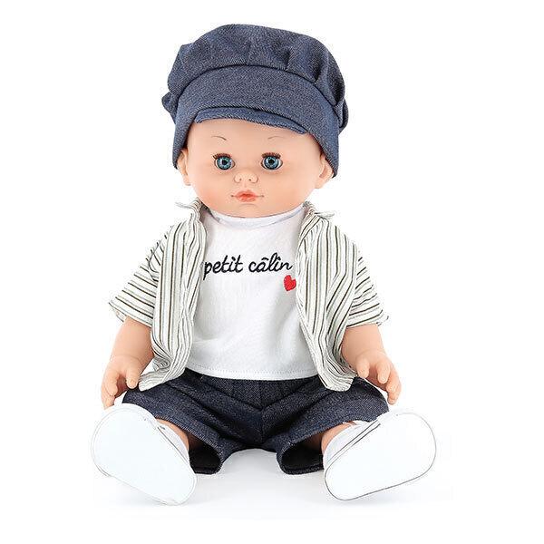 Petitcollin - Poupée Petit Câlin souple Jules 36 cm - Dès 3 ans