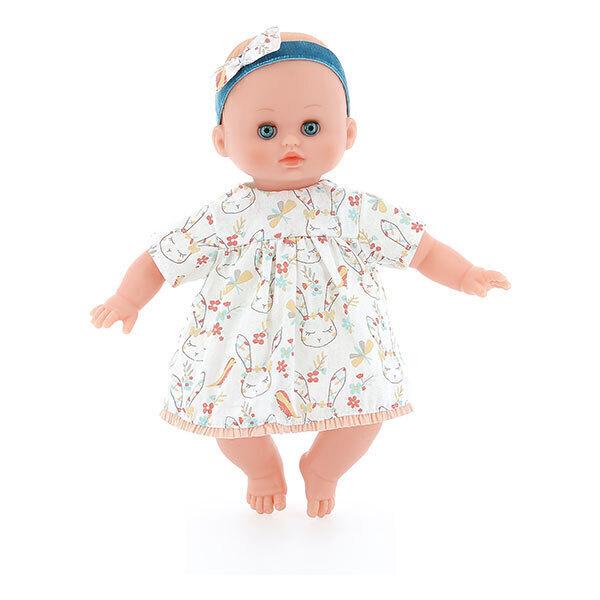 Petitcollin - Poupée Petit Câlin souple Lola 28 cm - Dès 18 mois