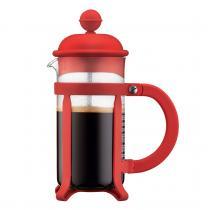 Bodum - Cafetière à piston 3 tasses Java rouge